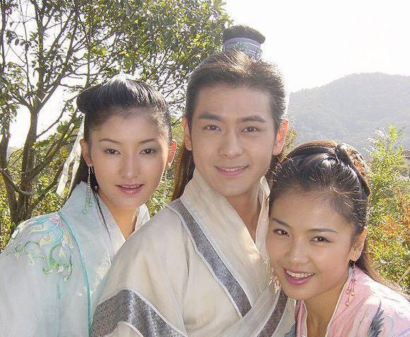 03版林志颖刘亦菲 天龙八部 幕后花絮照,最令人唏嘘的是虚竹