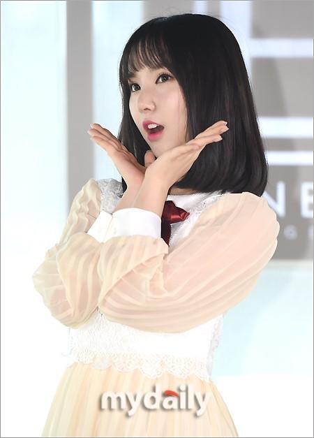 [MD PHOTO]韩国女团 GFriend首尔参加中国电视节目录制