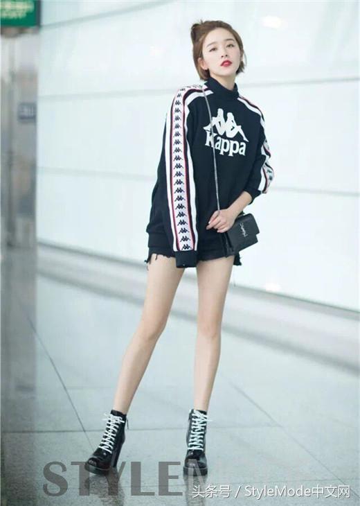 你以为阚清子的美照都是纪老师的功劳啊?还不是要会穿!