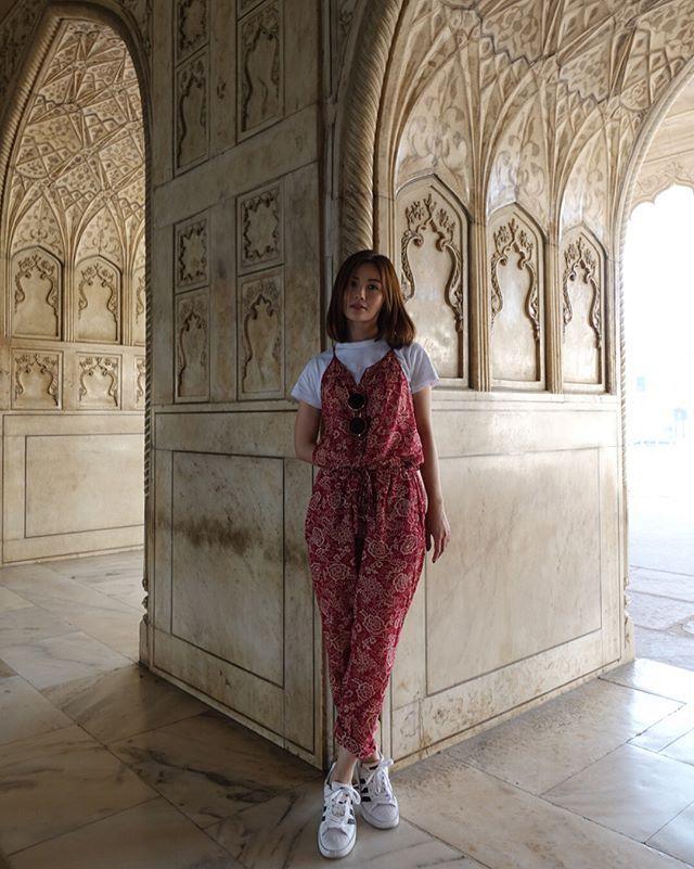 蔡卓妍融入百亿男友家 印度旅游预支蜜月