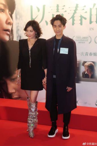 刘嘉玲为新电影站台,脚上的靴子亮了!