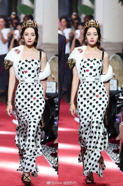 力压倪妮成亚洲最时尚面孔 热巴的永不出错妆容我服
