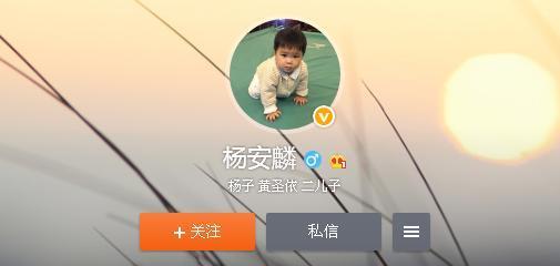 太厉害了!黄圣依的儿子才两岁就开了自己的微博