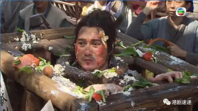 TVB绿叶为拍《翻生武林》25秒戏份,在垃圾囚车4个小时,成身恶臭
