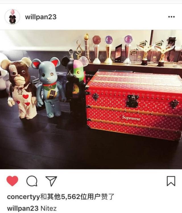 """""""无尾熊""""悄悄发糖?潘玮柏深夜晒玩具熊,吴昕送的生日礼物?"""
