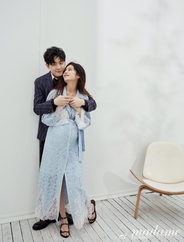 颖儿和付辛博拍婚纱,产后恢复速度比朱丹、张梓琳都可怕