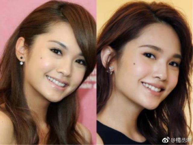 王心凌和杨丞琳同框合影,看起来年龄差距太大了