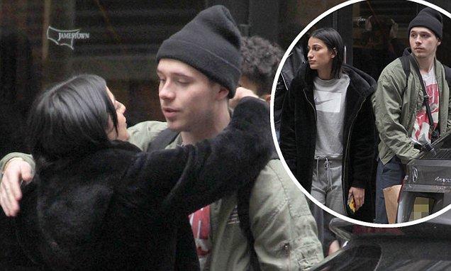 布鲁克林的网红新女友曝光,超杀女这次还会比手势吗?