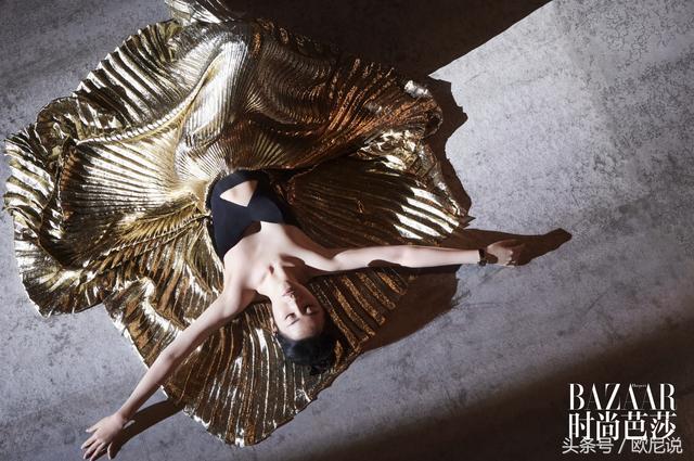 刘亦菲演绎舞者时尚没上热搜,却被刷胖,你们是不是对胖有啥误会