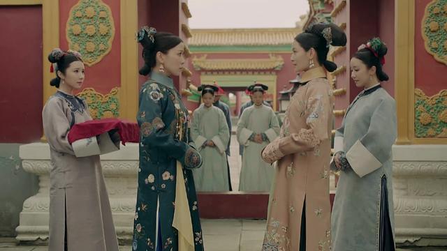 《延禧攻略》娴妃佘诗曼一招赢了纯妃,其实纯妃注定赢不了她