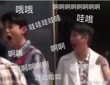 白敬亭和刘昊然在表情包道路上越走越齐了!哦,还有张若昀!