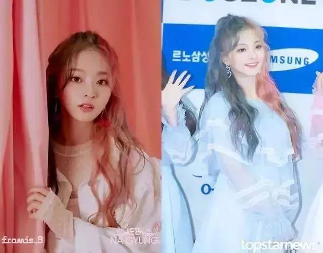 韩娱圈近期更换发色引起网友热议的偶像们,换发色像变了一个人?