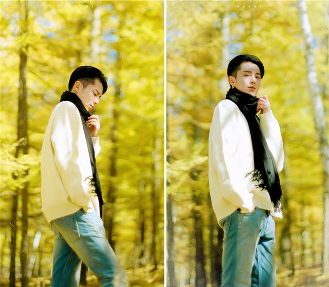 王鹤棣张艺兴穿同款大衣,一个桀骜不驯,一个得体正经,你pick谁