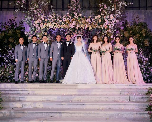 唐嫣罗晋婚礼现场图公开,接收11月第一波狗粮