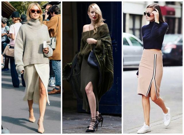 精美girl一年四季都离不开的3款针织裙,显瘦又百搭