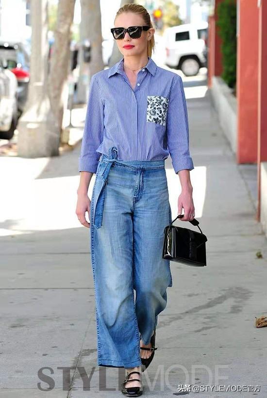 有型又藏肉的阔腿裤烂大街?这几条帮你突围