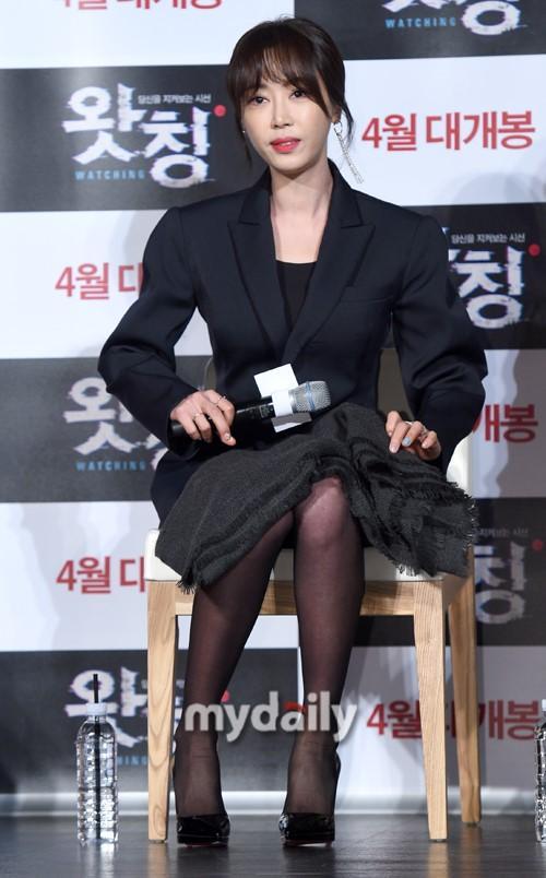 姜艺媛等韩国艺人首尔出席新片《Watching》发布会