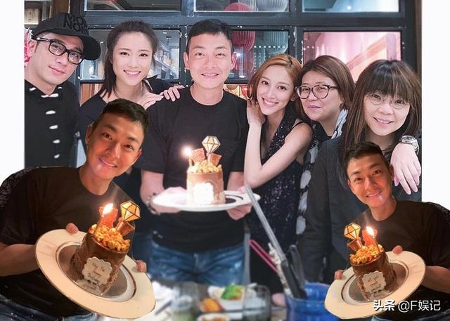 吴卓羲陈凯琳等提前为梁烈唯庆祝40岁生日