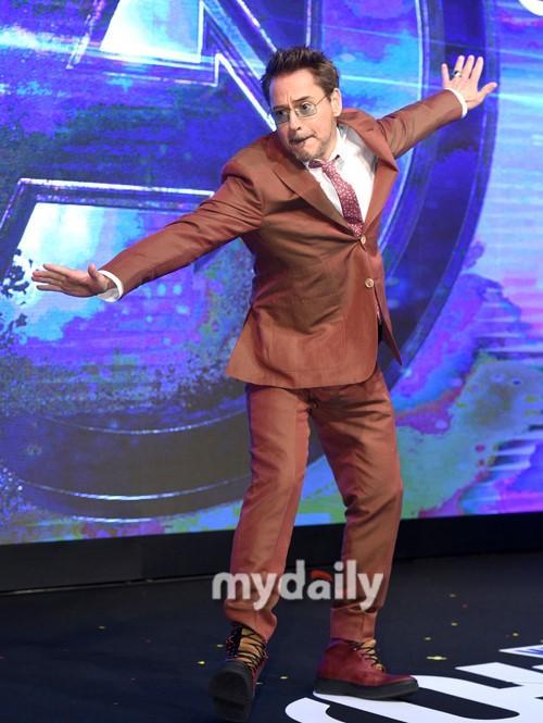 小羅伯特·唐尼等首爾出席《復仇者聯盟4》韓國發布會