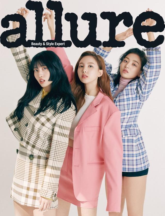 韓國女團TWICE最新時裝雜志照曝光