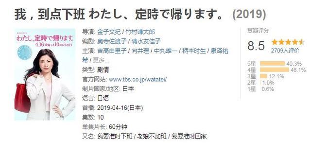 当马云刘强东大举996旗帜时,隔壁日本却拍出了这样的剧?真有他