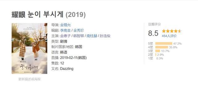 今年第一部满分韩剧,是它