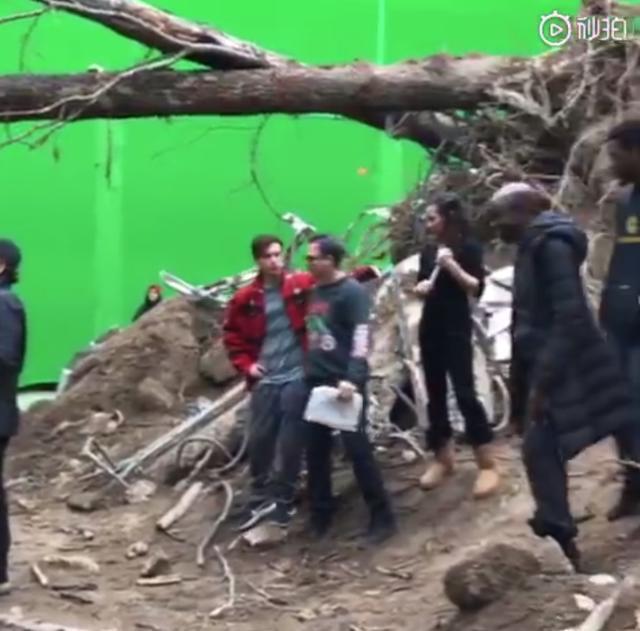"""美队也在复联4片场偷拍,""""纪律委员""""雷神再度出镜"""