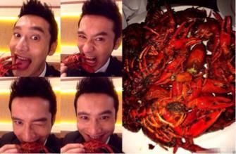 明星都爱小龙虾 张艺兴黄晓明为它疯狂 这位女神能让龙虾瑟瑟发抖