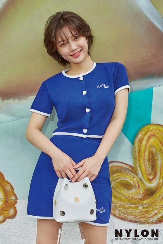韩国女艺人金裕贞中国澳门拍时装杂志写真