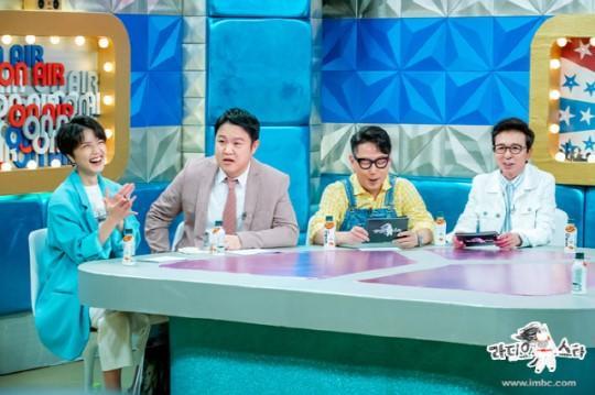 韩国女艺人安英美成《Radio Star》固定主持人