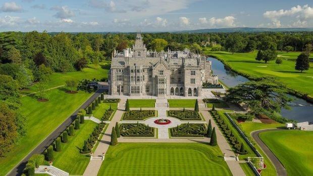 张若昀唐艺昕婚礼场地曝光 爱尔兰最美城堡之一