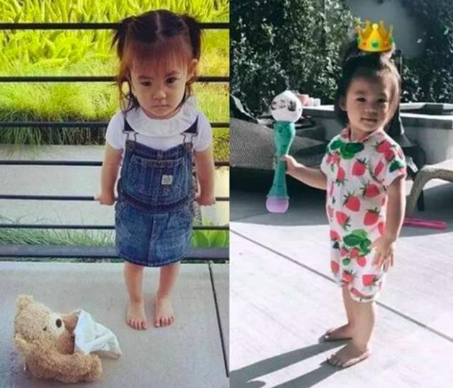 浪子回头!陈冠希变炫女狂魔晒2岁女儿正面照,女儿鞋子亮了