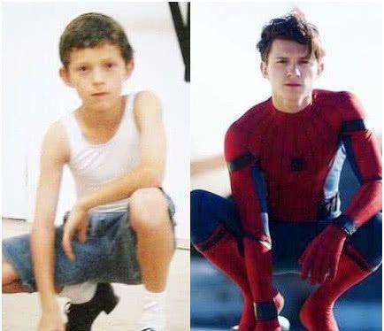 荷兰弟童年就想当俊杰!没想到长大后幻想完成成蜘蛛侠
