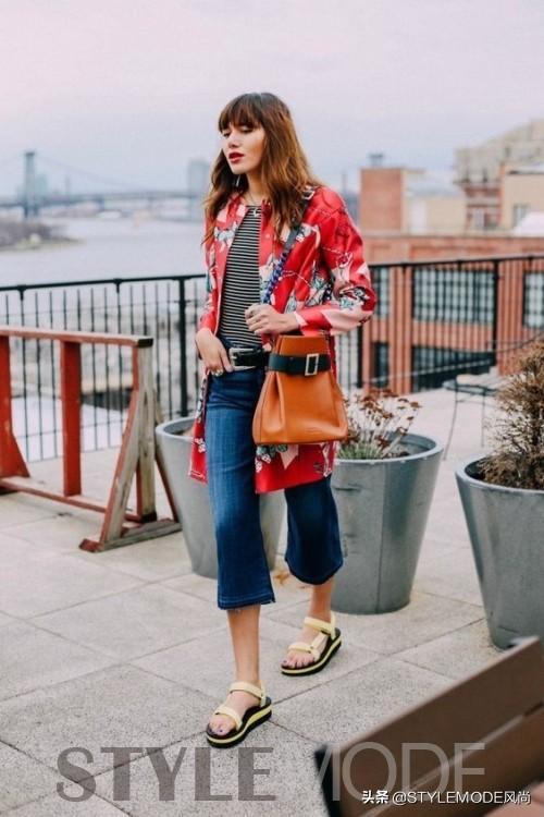 为什么时尚女郎夏天总是爱穿牛仔裤?