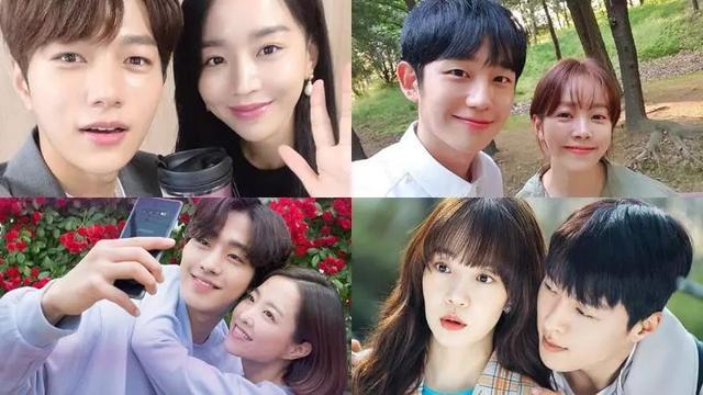 近期六部韩剧现实中「姐弟恋」的岁差,最多居然相差超过10岁