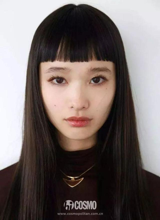 迪丽热巴的齐刘海像富江,我的刘海……