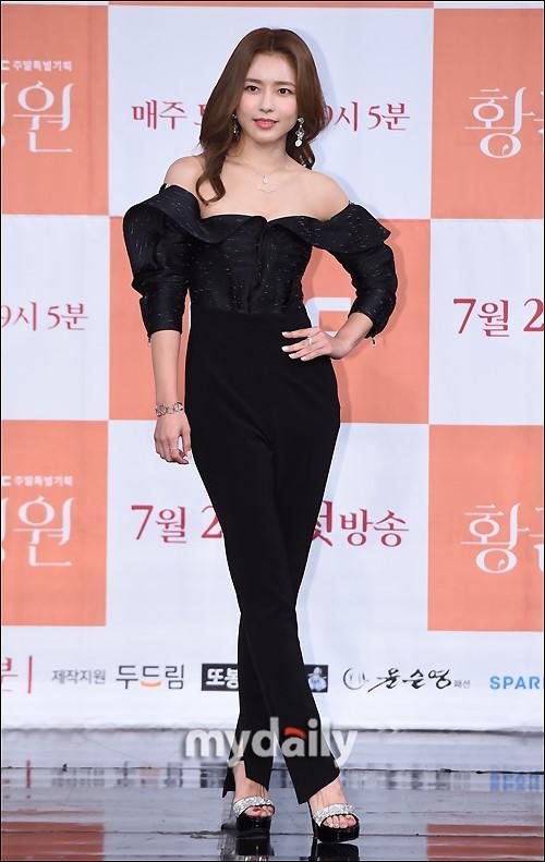 吴智恩李泰成等北京pk10艺人出席MBC周末剧《黄金庭院》发布会