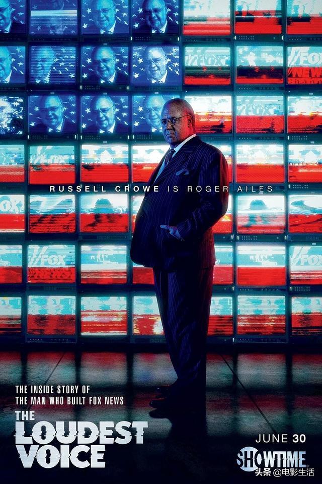 豆瓣8.8,罗素为了这剧吃成油腻大叔,揭露美国新闻人的阴暗史
