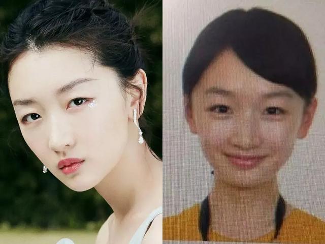 女明星证件照对比,张柏芝素颜楚楚动人,刘亦菲看一眼就被惊艳了