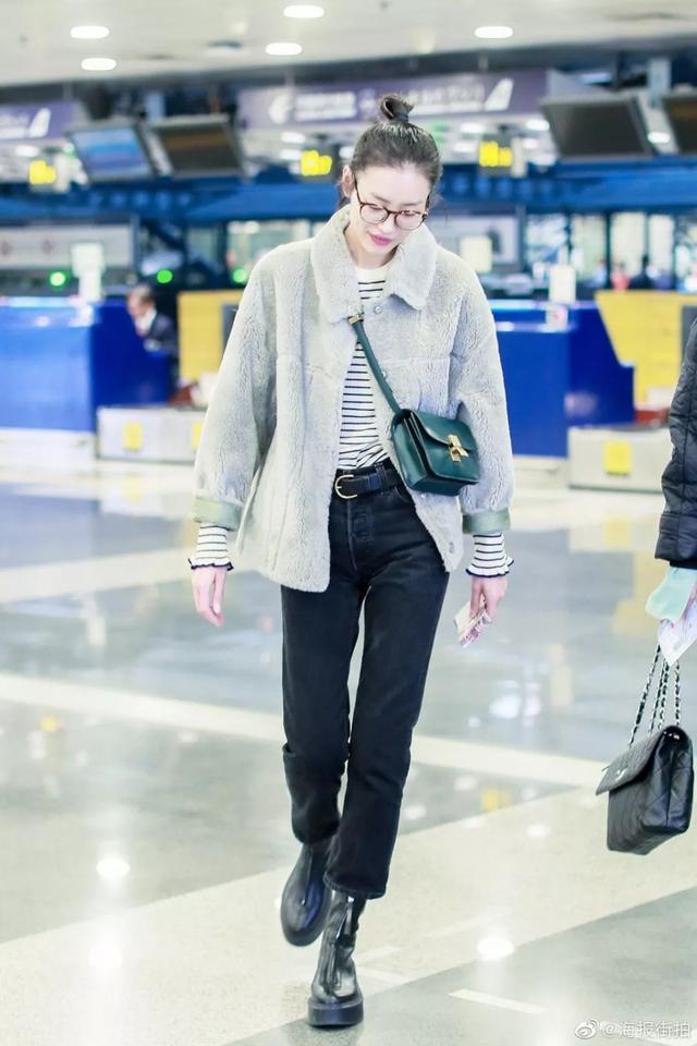 冬天的显高穿搭,从一条高腰裤开始