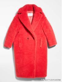 """今年冬天,給大衣加點""""彩"""""""