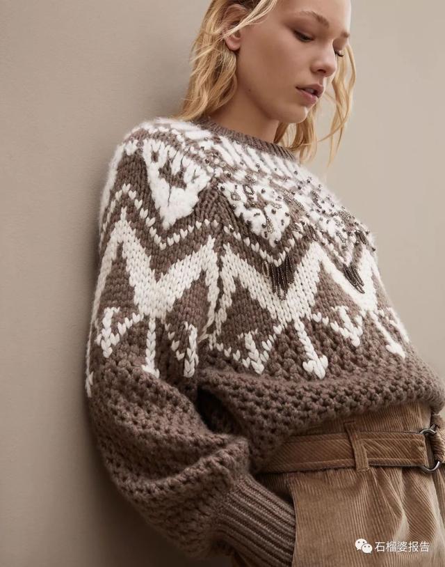 男女明星都在穿,這件毛衣要不要來個情侶款