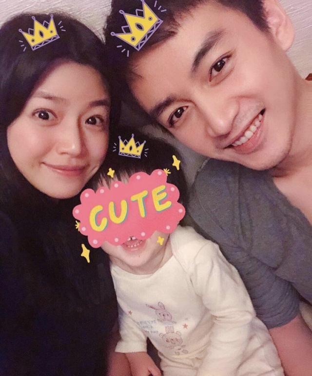 陈晓3岁儿子正脸罕见曝光,让人直呼太帅了!网友:基因太好了