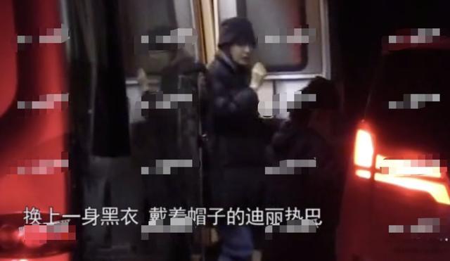 28岁迪丽热巴被曝和剧组男主深夜同回公寓?但两人亲热戏都靠借位