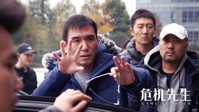 《危机先生》首曝专注版工作照,黄晓明打造危机行业质感力作