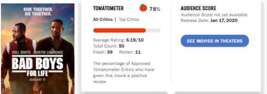 《绝地战警3》继上部时隔17年后将上映,媒体口碑曝光,好坏参半