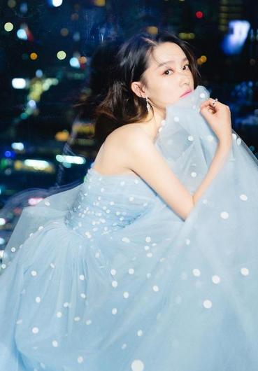 仙气十足的明星,赵丽颖像小公主,孙艺珍30多岁仍充满清纯气息