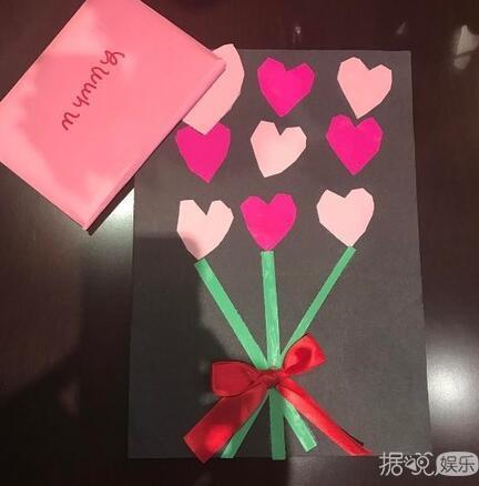5岁小七手写卡片告白贝嫂:可以当我情人吗
