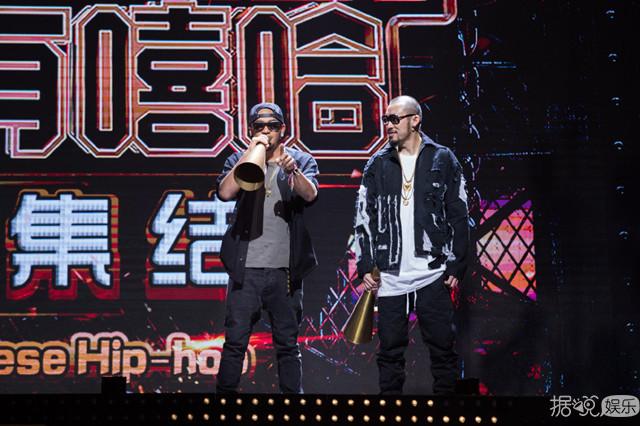 《中国有嘻哈》吴亦凡潘玮柏嘻哈范十足,对选手高标准严要求