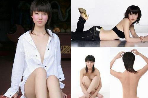 张筱雨人体艺术写真 张筱雨大尺度人体写真